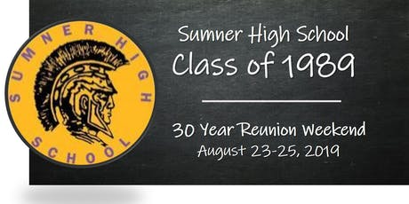 30 Year Reunion Celebration Dinner tickets