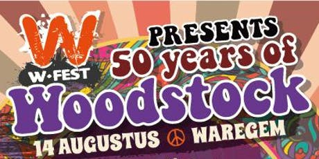 50 years of Woodstock tickets