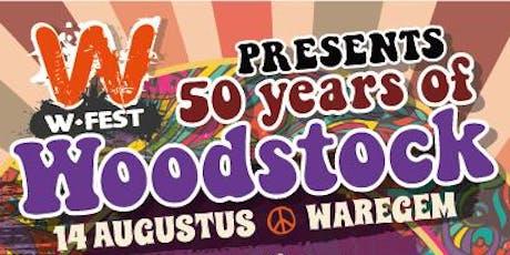 50 years of Woodstock billets