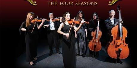 THE VIVALDI'S FOUR SEASONS MEET BACH MASTERPIECES biglietti