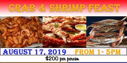 KING CRAB LEG, SHRIMP FEAST ALL YOU CAN EAT & MUCH MORE