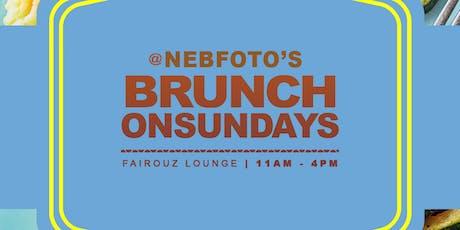 Nebfoto's Brunch on Sundays tickets