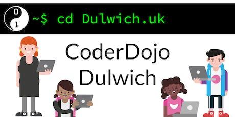 CoderDojo Dulwich #7 @ The Charter School East Dulwich [July 2019] tickets