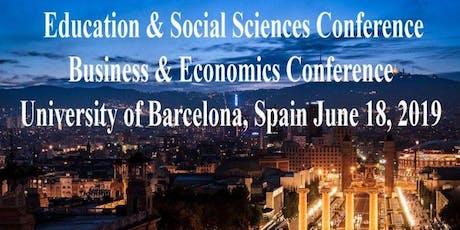International Academic Conferences Barcelona, Spain June 18, 2019 entradas
