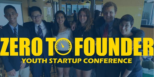 Zero to Founder Youth Entrepreneur Conference
