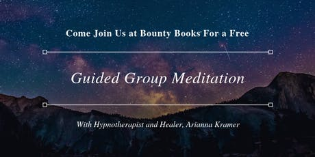Guided Group Meditation  tickets