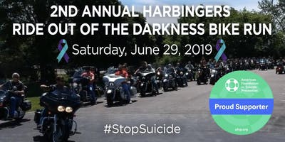 2nd Annual Harbingers Ride Out of the Darkness Bike Run