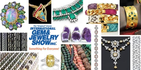 The International Gem & Jewelry Show - San Mateo, CA tickets