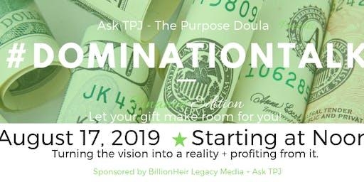 #DominationTalk:  Finance Edition