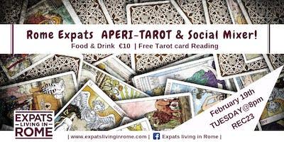 Rome Expats: Aperi-Tarot & SocIal Mixer (Testaccio)