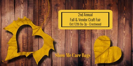 2nd Annual Fall Vendor & Craft Fair  tickets