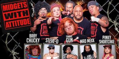 Midgets Wrestling Show at HonkyTonk Saloon