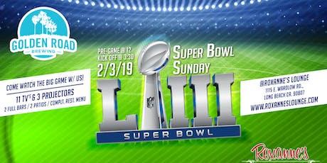 super bowl sunday kickoff party tickets sun feb 3 2019 at 3 00 pm
