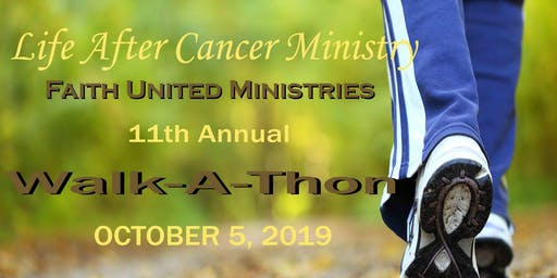 Life After Cancer 11th Annual Cancer Walk