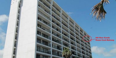 Beautiful 11th Floor Galveston Ocean Front 3 Bedroom Condo Stay