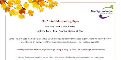 Fall Into Volunteering