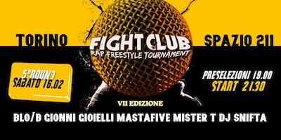 FightClub + MOMA LIVE (Blo-B - Gionni Gioielli) Torino