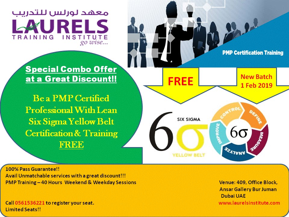 Pmp Training With Lean Six Sigma Yellow Belt Training