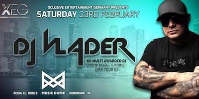 Multi Awarded DJ VLADER Live on Stage