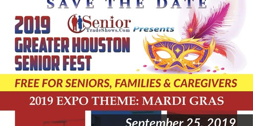 2019 Greater Houston Senior FEST-Theme Mardi Gras
