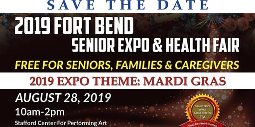 2019 Fort Bend Senior Expo & Health Fair-Theme Mardi Gras
