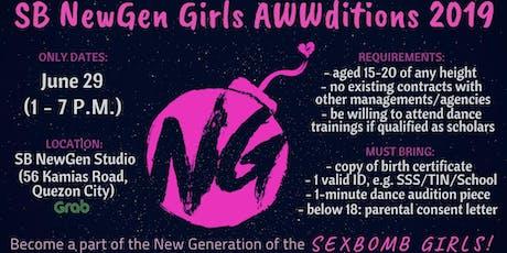SB NewGen AWWdition (Part 2) tickets