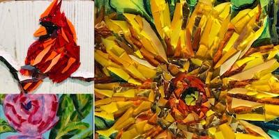 Mosaic Glass Painting Class
