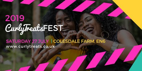 2019 CurlyTreats Natural Hair Festival London by Shirvina: UK's Biggest Natural Hair & Wellness Event tickets