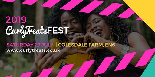 2019 CurlyTreats Natural Hair Festival London by Shirvina: UK's Biggest Natural Hair & Wellness Event