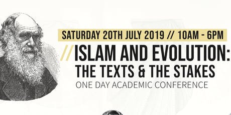 Islam and Evolution: The Texts and the Stakes tickets