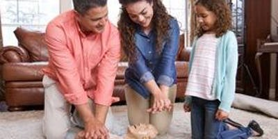 Friends and Family CPR (**NOT A CERTIFICATION CLASS**)
