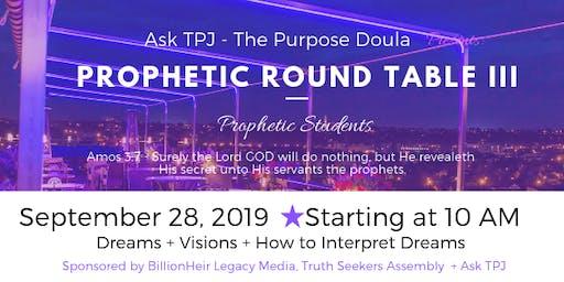 Prophetic Roundtable III