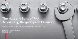 Nuts & Bolts of PHA Accounting, Budgeting and Finance