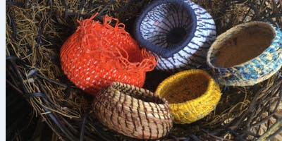 Create a coiled basket