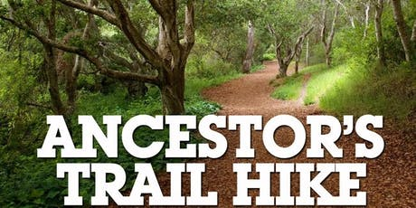 Ancestor's Trail Hike, 2019 tickets