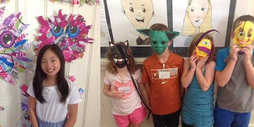 Summer Art Camp: Week 5 - HALF DAY