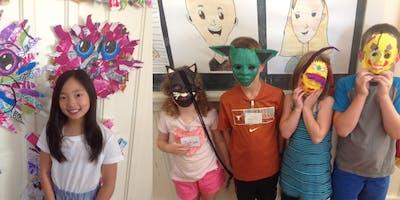 Summer Art Camp: Week 6 - HALF DAY