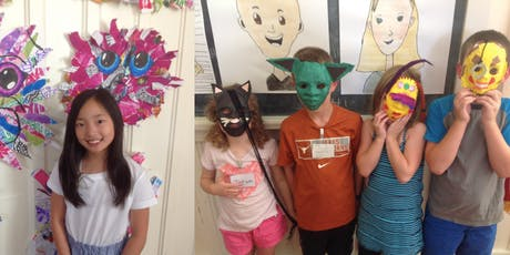 Summer Art Camp: Week 6 - HALF DAY tickets