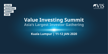 Value Investing Summit 2020 tickets