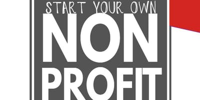Start your own nonprofit organization workshop
