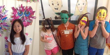 Summer Art Class: Week 8 - HALF DAY tickets