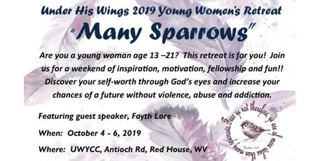 Many Sparrows Young Women's retreat tickets
