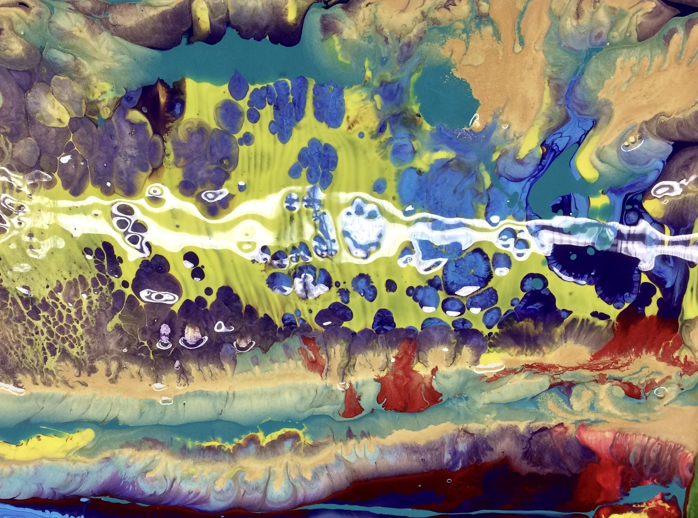 ACRYLIC POURING! At ARCH SF