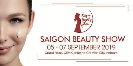 Saigon Beauty Show 2019 tickets
