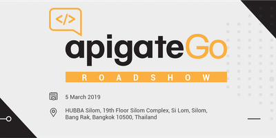 ApigateGo Bangkok Roadshow