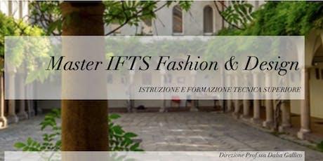 Open Day  Master IFTS Fashion & Design biglietti