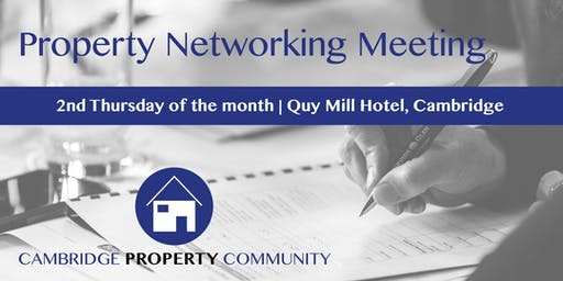 Cambridge Property Community (CPC) Meeting 2019