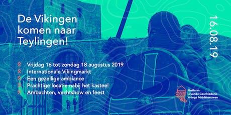 De Vikingen komen! 2019 tickets
