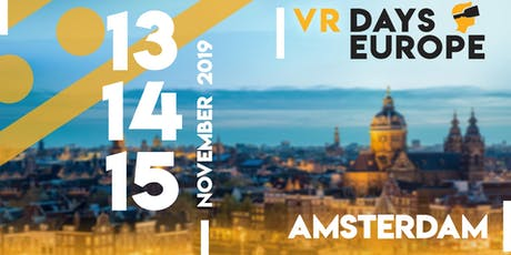 VR Days Europe 2019 5th Lustrum Edition tickets