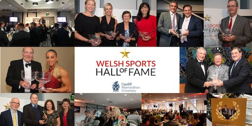 Welsh/Cymru Sports Hall of Fame Roll of Honour Dinner